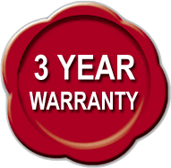 ICE Ignition 3 year warranty logo