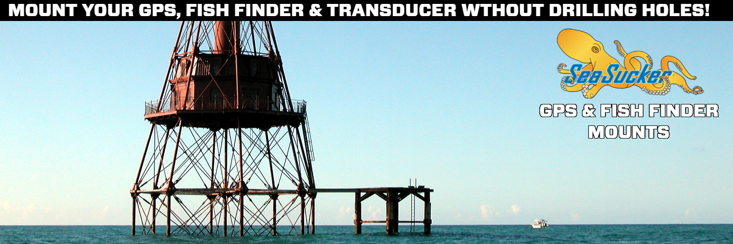 SeaSucker Down Under GPS & Fish Finder Mounts