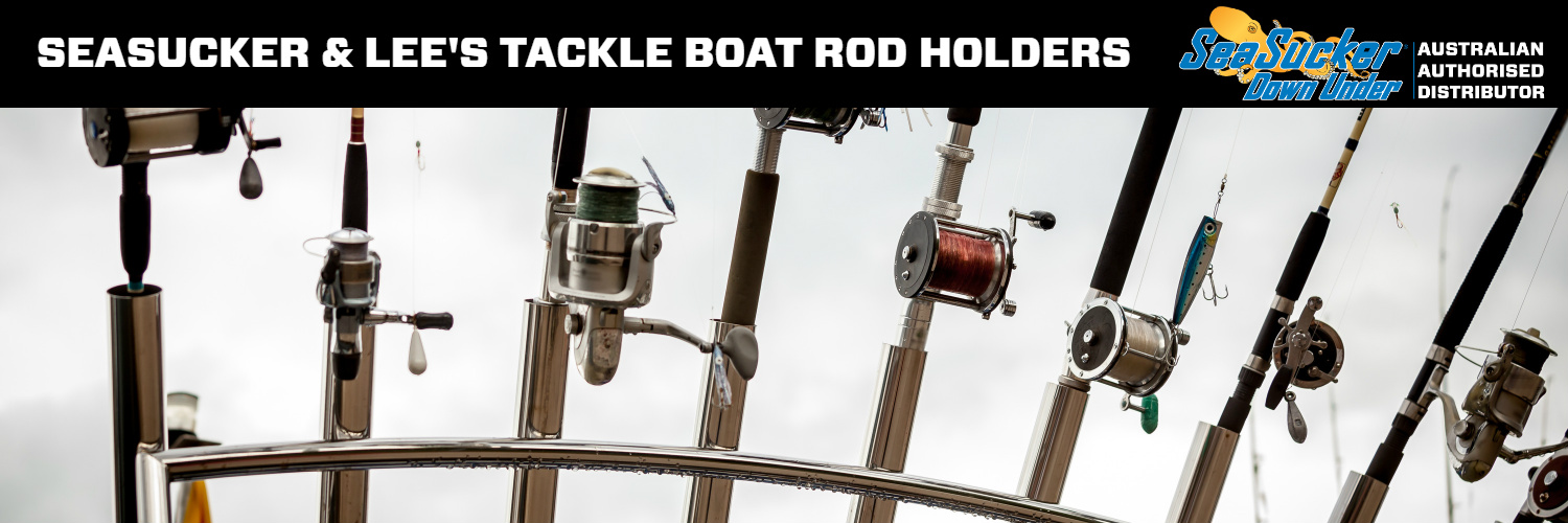 SeaSucker Down Under Boat Rod Holders
